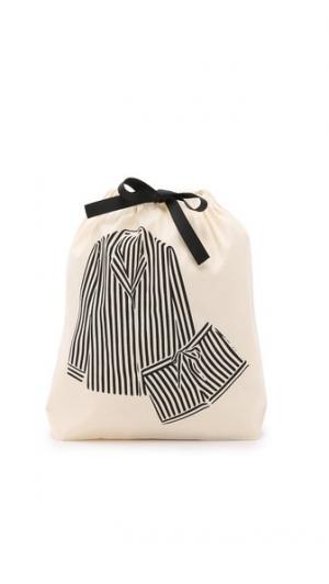 Сумка-органайзер с изображением пижамы в полоску Bag-all