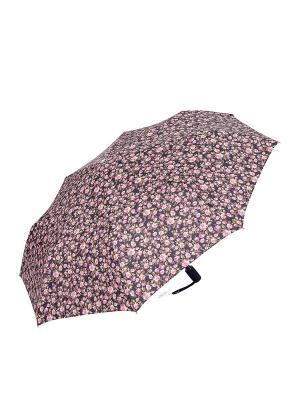 Зонт Slava Zaitsev. Цвет: розовый, черный