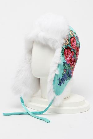 Шапка-ушанка ROMAX. Цвет: белый мех