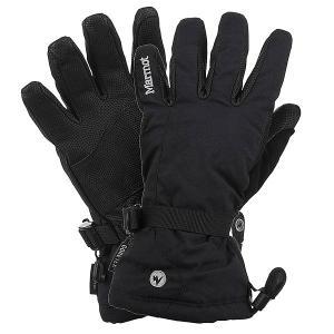 Перчатки сноубордические женские  Randonnee Glove True Black Marmot. Цвет: черный