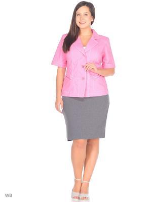 Жакет NADIA ARMAN. Цвет: розовый