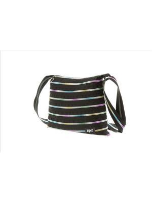Сумка Medium Shoulder Bag, цвет черный/мульти ZIPIT. Цвет: черный