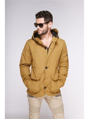 Куртка мужская Nikolom. Цвет: горчичный