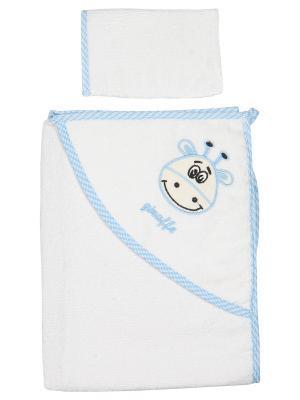 Уголок для купания малыша M-BABY. Цвет: белый, голубой