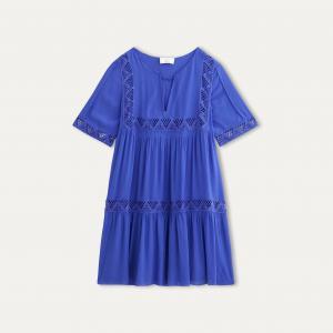 Платье WAXA BA&SH. Цвет: синий королевский