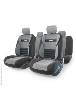 Авточехлы COMFORT COMBO, CMB-1105 BK/D.GY (M) Autoprofi. Цвет: серый