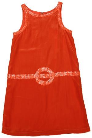 Платье Dino e Lucia. Цвет: оранжевый