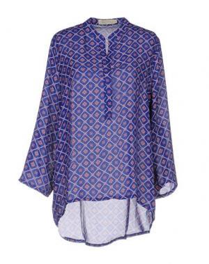 Блузка LOU LONDON. Цвет: синий