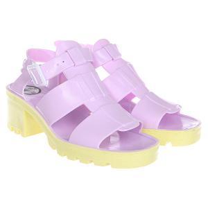 Сандалии женские  Standard Colours Baby Lilac JuJu. Цвет: желтый,розовый