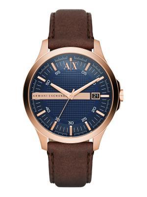 Часы Armani Exchange. Цвет: золотистый, коричневый, красный