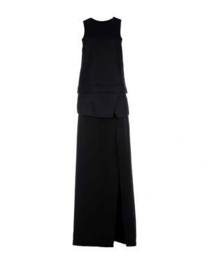 Длинное платье NEIL BARRETT. Цвет: черный