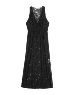 Платье длиной 3/4 DEVOTION. Цвет: черный