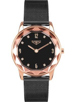 Часы 33 ELEMENT. Цвет: черный,розовый,золотистый