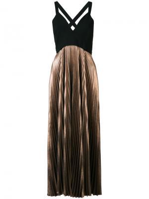 Плиссированное платье A.L.C.. Цвет: чёрный