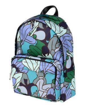 Рюкзаки и сумки на пояс BALLY. Цвет: бирюзовый