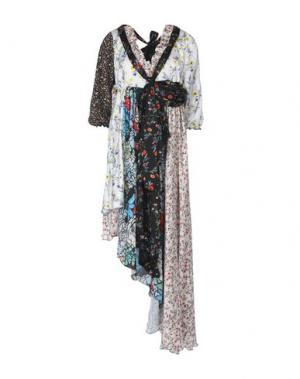 Короткое платье AKEP. Цвет: белый