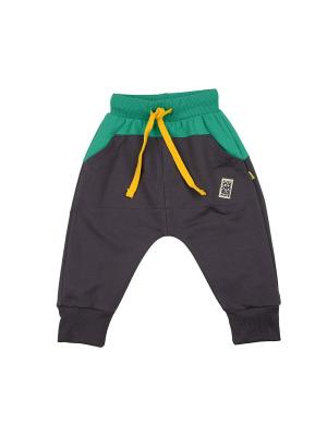 Брюки Mini Maxi. Цвет: зеленый
