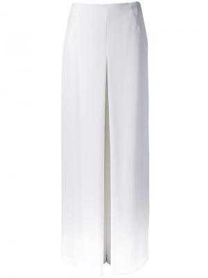 Широкие брюки Bianca Spender. Цвет: белый