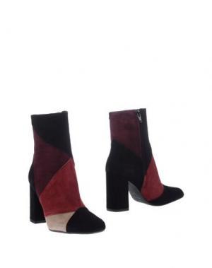 Полусапоги и высокие ботинки BAGATT. Цвет: красно-коричневый