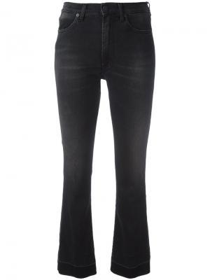 Расклешенные джинсы +People. Цвет: чёрный