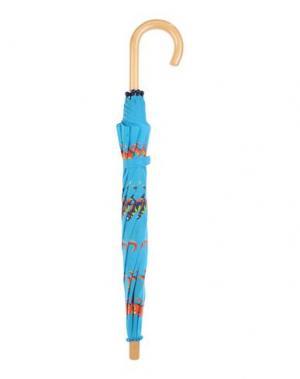 Зонт HATLEY. Цвет: бирюзовый
