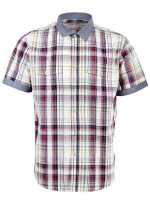 Рубашка Hazard. Цвет: серый