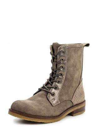 Ботинки Bata. Цвет: коричневый
