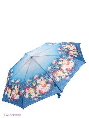 Зонт RAINDROPS. Цвет: синий, голубой