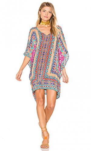 Платье raquel Tolani. Цвет: синий