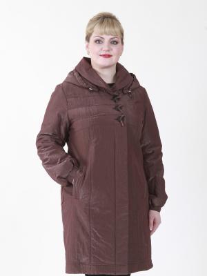 Пальто Эдита VIKO. Цвет: коричневый