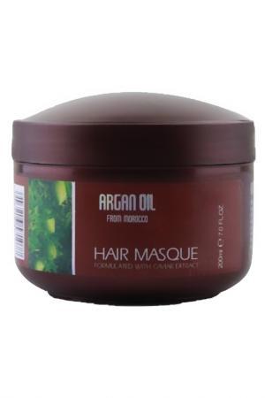 Увлажняющая маска для волос Morocco Argan Oil. Цвет: none