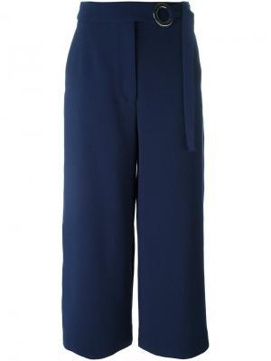 Широкие брюки Proenza Schouler. Цвет: синий