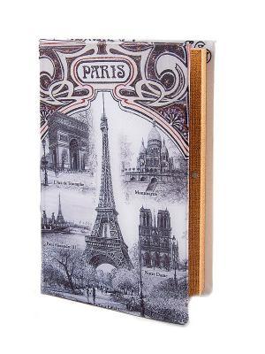 Шкатулка-фолиант Париж Русские подарки. Цвет: сиреневый, светло-серый
