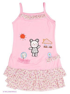 Сарафан Kidly. Цвет: бледно-розовый