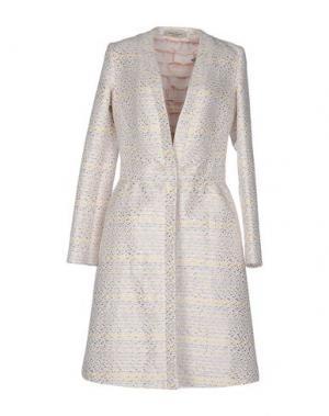 Легкое пальто PICCIONE•PICCIONE. Цвет: светло-розовый