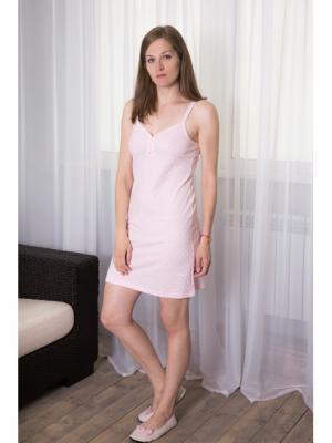 Ночная сорочка Violett. Цвет: розовый