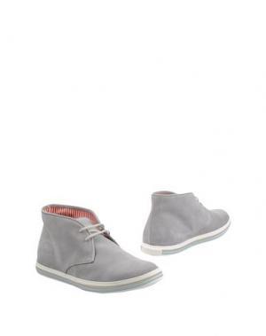 Полусапоги и высокие ботинки GUARDIANI DRIVE. Цвет: светло-серый