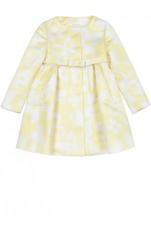 Пальто I Pinco Pallino. Цвет: желтый