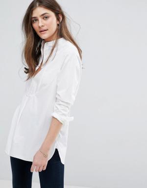 Jack Wills Удлиненная рубашка. Цвет: белый