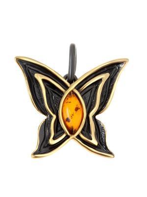 Подвеска Балтийское золото. Цвет: черный, желтый, оранжевый