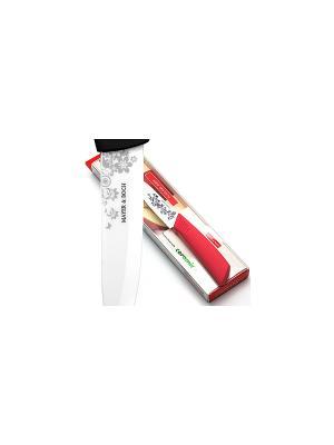 Нож кухонный MAYER-BOCH. Цвет: белый, красный
