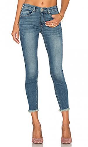 Укороченные узкие джинсы с потрепанным низом newton MCGUIRE. Цвет: none