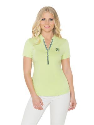 Футболка женская BeGood. Цвет: светло-зеленый, салатовый