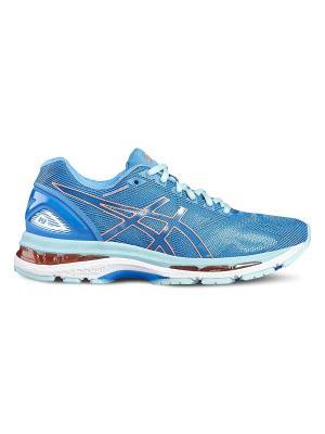 Спортивная обувь GEL-NIMBUS 19 ASICS. Цвет: голубой, коралловый, светло-голубой