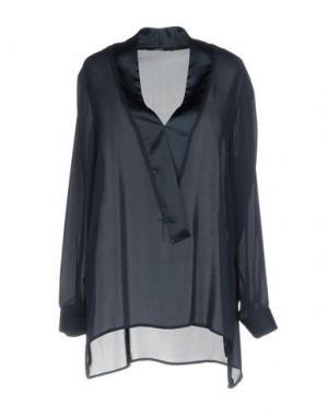 Блузка G.SEL. Цвет: темно-синий