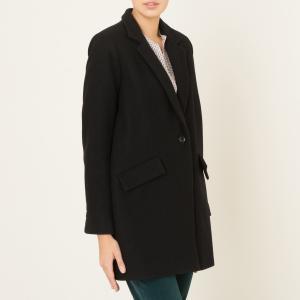 Пальто средней длины HELLO DOL SESSUN. Цвет: черный