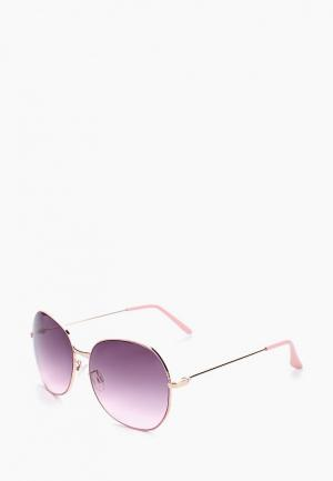 Очки солнцезащитные Modis. Цвет: розовый