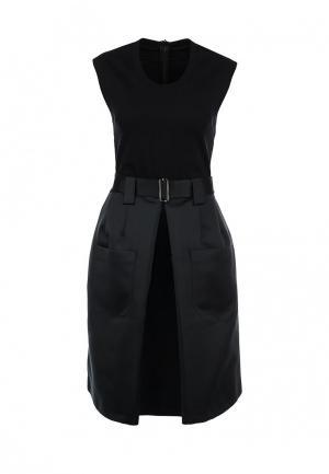 Платье Jil Sander Navy. Цвет: черный