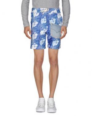 Повседневные шорты ED 2.0. Цвет: синий