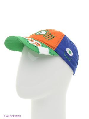 Бейсболка Чудо-Кроха. Цвет: синий, зеленый, оранжевый